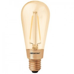 Lampe Ambrée Wireled E27 3W 210lm