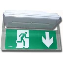 Porte étiquette saillie plafond 90095 zemper