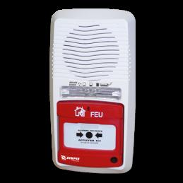 Tableau d'alarme incendie type 4 à pile
