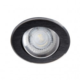 Spot orientable NALEN rond noir/alu