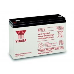Batterie plomb pour Yuasa NP12-6