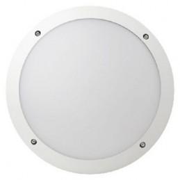 Hublot E27 LUCIA 300mm IP66 IK10 Blanc avec détecteur