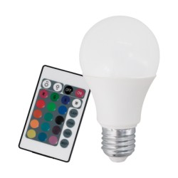 Ampoule LED E27 RGB + 3000K 7,5W