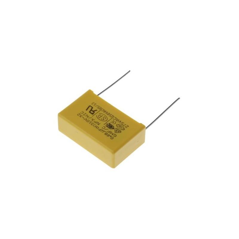 Condensateur antiparasitage 680nF Classe X2