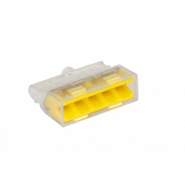 Bornes à connexions rapides 5 fils rigides - boîte de 100