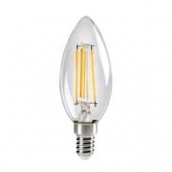 Ampoule E14 Wireled 4,5W Flamme XLED C35 2700K