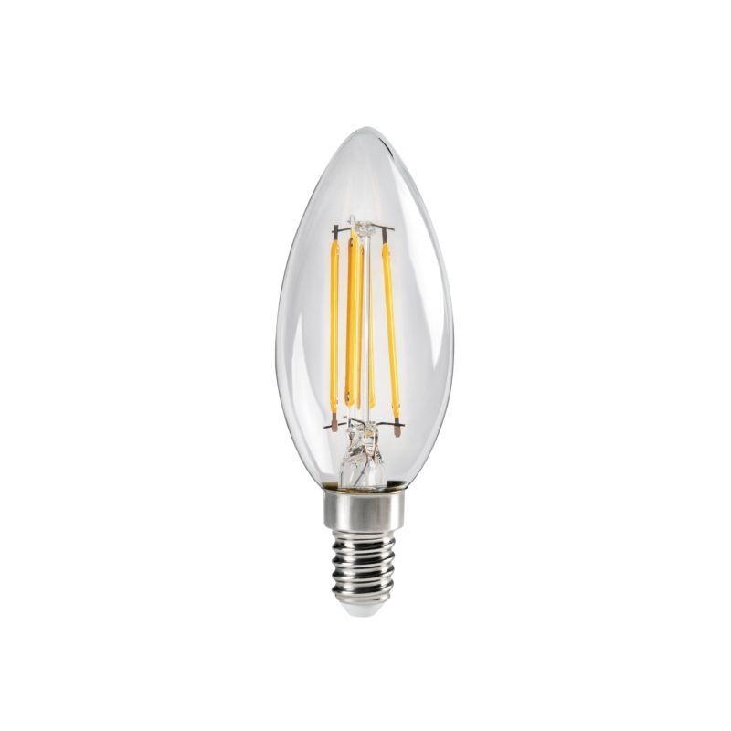 Lampe Flamme XLED C35 E14 kanlux 29618