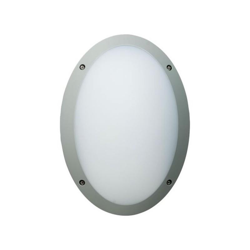 hublot led fonda ovale10 5w 1250lm gris ain ecotech. Black Bedroom Furniture Sets. Home Design Ideas