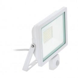 Projecteur LED FILETTI 30W blanc avec détecteur 4000K