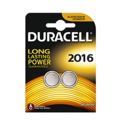 Pile Bouton Duracell DL2016 B2