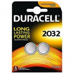 Pile Bouton Duracell DL2032 x2
