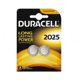 Pile Bouton Duracell DL2025 - pack de 2