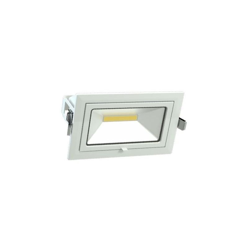 Downlight LED VITRO rectangulaire 45W orientable LITED DWR-45