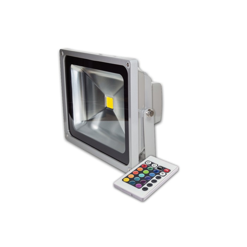 projecteur led rgb ip65 10w 850lm. Black Bedroom Furniture Sets. Home Design Ideas