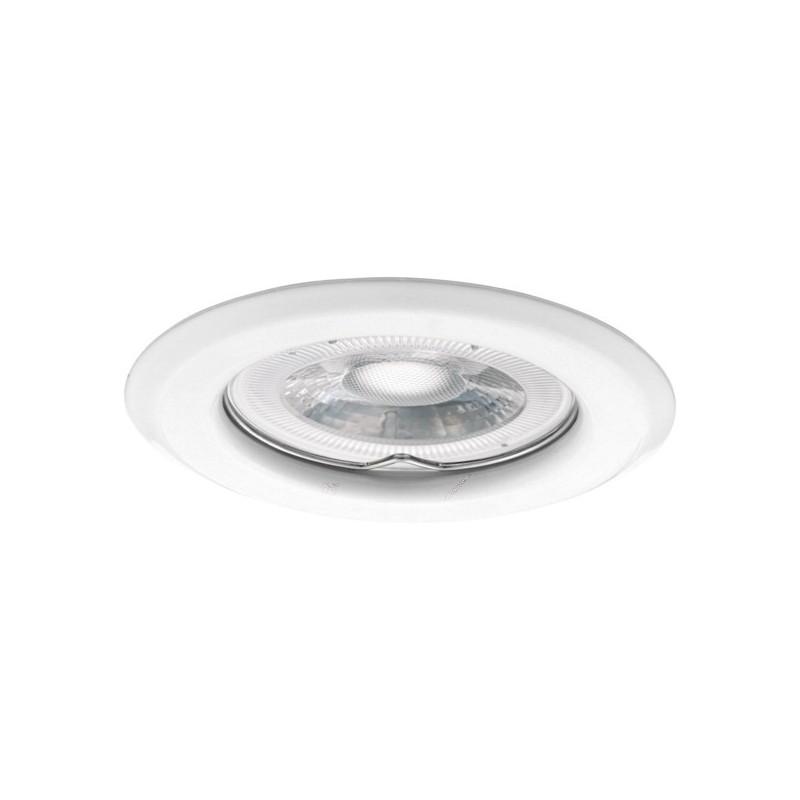 Spot fixe aluminium blanc kanlux 303