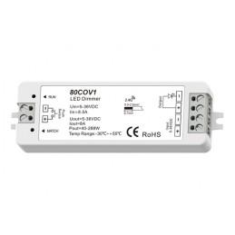Contrôleur monochrome radio / pushdim SOFTDARK 12-24V 1CH max 15A