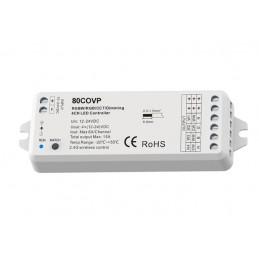 Contrôleur radio SOFTDARK MONO/WWCW/RGB/RGBW 12-24V 4CH max 24A