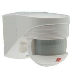 Détecteur de mouvement Lc Click 140° IP54 Blanc