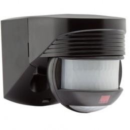 Détecteur de mouvement Lc Click 200° + 360° IP54 Noir