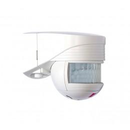 Détecteur de mouvement Lc Click 200° IP54 Blanc