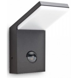 Applique LED STYLE 9,5W 3000K 750Lm PIR Anthracite