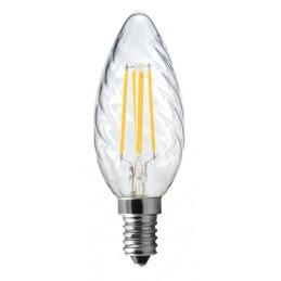 Ampoule E14 Wireled 5W Flamme torsadée 550Lm