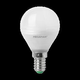 Ampoule E14 LED 3,5W Sphérique 2800K 250Lm