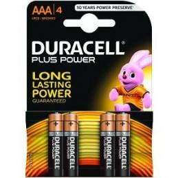 Piles Duracell Plus Power AAA pack de 4