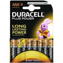 Piles Duracell Plus Power AAA pack de 8