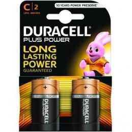 Piles Duracell Plus Power C pack de 2