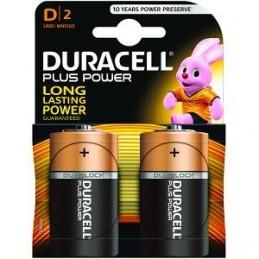 Piles Duracell Plus Power D pack de 2