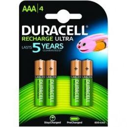 Piles AA pré-chargées Duracell 850 mAh