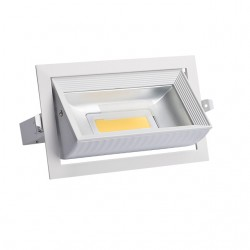 Downlight MISTRAL LED rectangulaire 30W orientable
