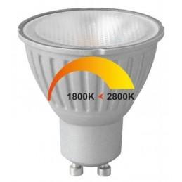 Ampoule LED GU10 6W Dim to Warm