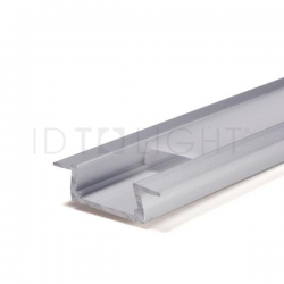 Profilé Aluminium à encastrer PALMA 2M