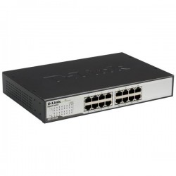 Switch Gigabit 16 Ports DGS-1016D